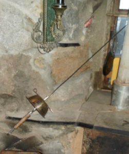 Шпага каминная
